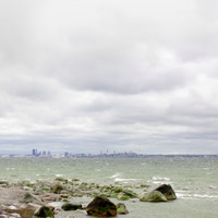 Landscape photography direct download, Tallinn panorama, Tallinn picture, sea photography, gray photograpy, wall art, home decore, printable