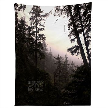 Leah Flores Forest Universe Tapestry