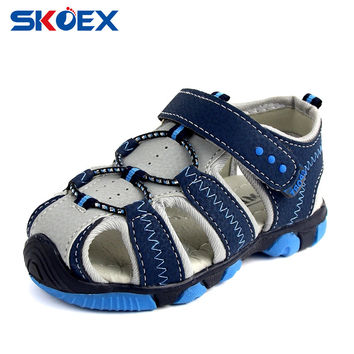 Summer Outdoor Children Sandals Closed-Toe Strap Boys Girls Beach Shoes Canyon Water Adventure Seeker (Baby/Little Kid/Big Kid)