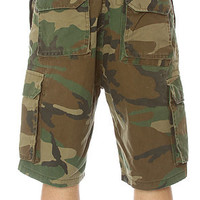Rothco Shorts Vintage Paratrooper Cargo in Olive Camo