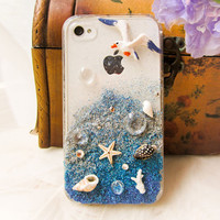 Original Sunset Beach Crystal Bling Bling Phone by TwinkleCase