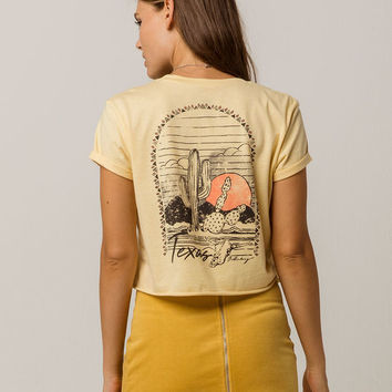 BILLABONG Texas Desert Sun Womens Crop Tee