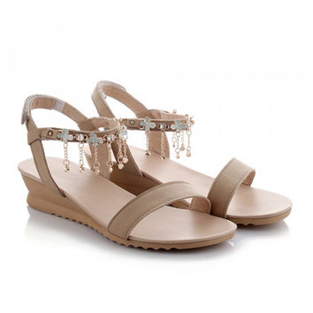 Flat Sandals Women's shoes on sale = 4662455940