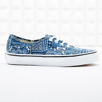 Vans Authentic Trainers in Paisley Bandana Print - Urban Outfitters