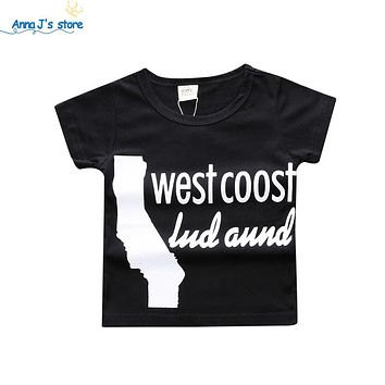 Vogue letter Kids Tee Tee Tops Children's Clothing trendy toddler clothes