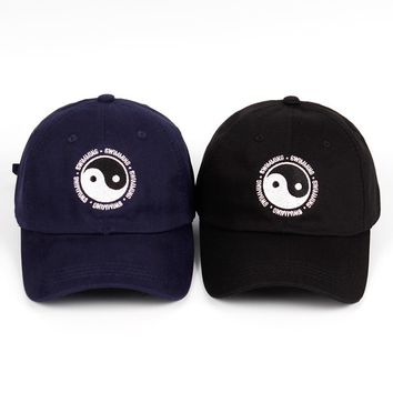 Trendy Winter Jacket Mac Miller Dad Hat 100% Cotton Swimming Yin and Yang Gossip Embroidered Hat Snapback Baseball Cap For Men And Women  AT_92_12