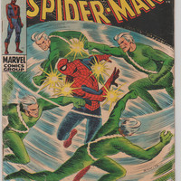 Amazing Spider-Man; V1, 71.  VG+. Apr 1969.  Marvel Comics