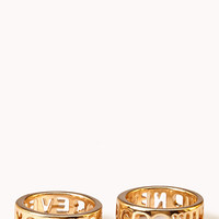 Statement-Making Forever Young Ring Set