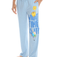 Adventure Time What Time Is It Guys Pajama Pants
