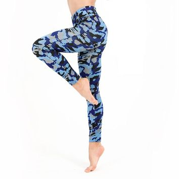 Fitness Elastic Workout Leggings