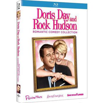 Doris Day And Rock Hudson Romantic Comedy Collection: Pillow Talk / Love Come Back / Send Me No Flowers (Blu-ray) Other