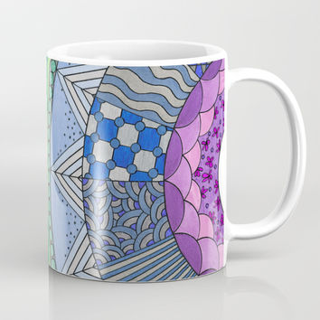 Rainbow Coffee Mug by ninagibson