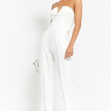 Strapless V-Wire Jumpsuit