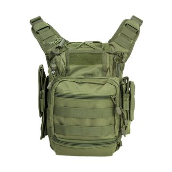 First Responders Utility Bag has Plenty of Space with 7 Compartments - Green