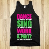 Dance, Sing, Work & Party - def29