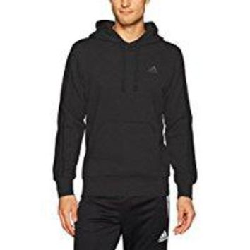 CREYON adidas Men's Essentials 3-Stripe Pullover Hoodie