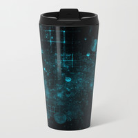 Einstein's Universe Metal Travel Mug by lyle58