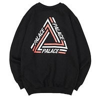 Palace Women Men  Fashion Casual Pattern Top Sweater Pullover
