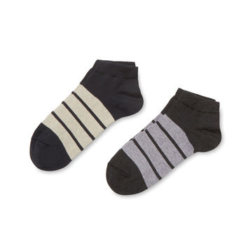 J.M. Dickens Men's Striped Socks (2 Pack)
