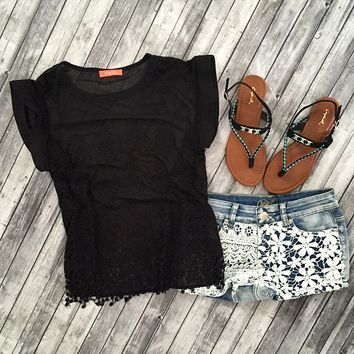 Romance And Spring  Top