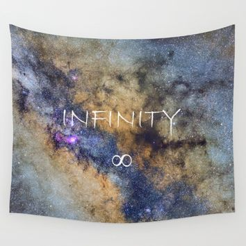 Milky way. Infinity. Scorpius and Sagittarius. Wall Tapestry by Guido Montañés
