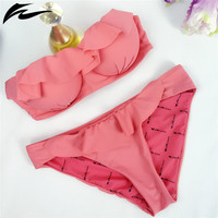 Bandage Bikini Set Push-up Swimsuit Bathing Suit