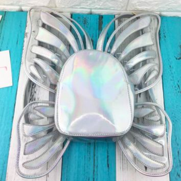 Mariposa Backpack in Holographic Realness