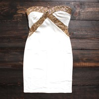 FINAL SALE - Angelic Little Party Dress in White