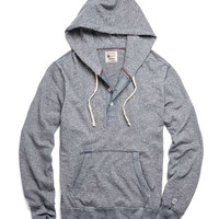 Montauk Hoodie in Navy Heather