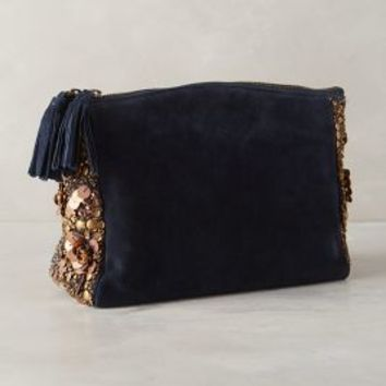 Radiant Rise Clutch by Jasper & Jeera Navy One Size Clutches