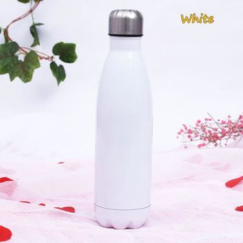 Family Friends party Board game Free shipping 500ML Bowling mug 304 Stainless Steel Insulation cold/heat water bottle Sport Bottle Vacuum Flasks Festival Gift AT_41_3