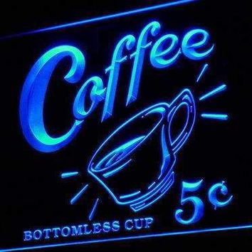 Coffee 5 Cents Vintage Neon Sign (LED)