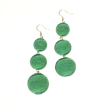 Bon Bon Drop Earrings- Green