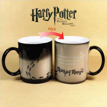 Mischief Managed Color-Changing Coffee Mug