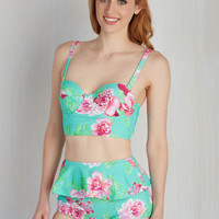 The Swimming Hole Shebang Swimsuit Top | Mod Retro Vintage Bathing Suits | ModCloth.com