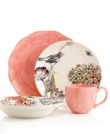 Edie Rose by Rachel Bilson Dinnerware, Hydrangea Mix and Match Collection - Casual Dinnerware - Dining & Entertaining - Macy's