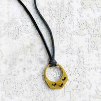 TORCHLIGHT Mountain Pendant Necklace- Gold One