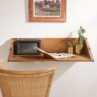 Woodlyn Folding Desk Shelf | Urban Outfitters