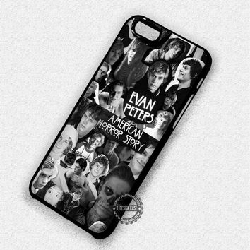 Evan Peters Collage Tate Langdon - iPhone 6 5s SE Cases & Covers