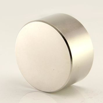 2pcs super powerful Dia 40mm x 20mm neodymium magnet 40x20 disc magnet rear earth NdFeB REAL N52 magnets