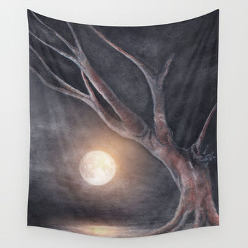 The Moon Wall Tapestry by Marco Gonzalez