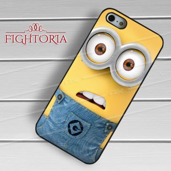 Cute Minion - z321z for iPhone 6S case, iPhone 5s case, iPhone 6 case, iPhone 4S, Samsung S6 Edge