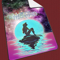 """In The Moon light Nebula Space Ariel The Little Mermaid e48c3da6-5e9e-48d6-90b7-15354522cf6a Kids Blanket Game Blanket All Character Popular Game, Cute and Awesome Blanket for your bedding, Blanket fleece """"NP"""""""