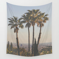 L.A. Wall Tapestry by Luke Gram
