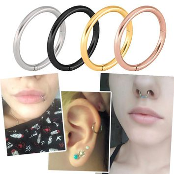 Hinged Segment Ring Body Jewelry