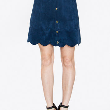 SONIA SUEDE SKIRT