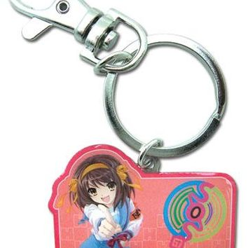Uniform Tag - Keychain - The Melancholy of Haruhi Suzumiya