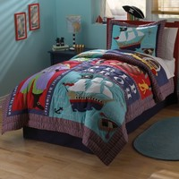 Pem America Pirates Treasure Quilt Set | www.hayneedle.com