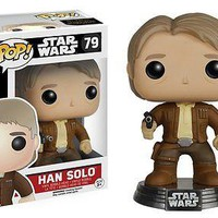 Funko Pop Star Wars: Episode 7 - Han Solo Vinyl Figure