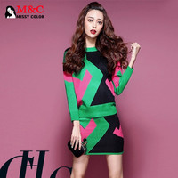 Costume for Women Crop Top Knit Sweater Women Clothing Set 2 Piece Set 2015 Europe New Spring Green Blue Blouse Skirt Suit ZF013-in Women's Sets from Women's Clothing & Accessories on Aliexpress.com | Alibaba Group